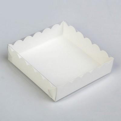 Коробка под печенье ,белая