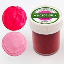 Краситель для шоколада жирорастворимый «Розовый» 8 гр.