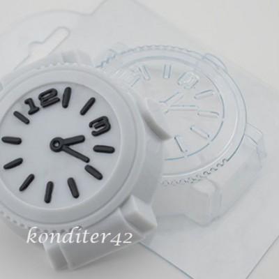 """Пластиковая форма """"Часы"""""""