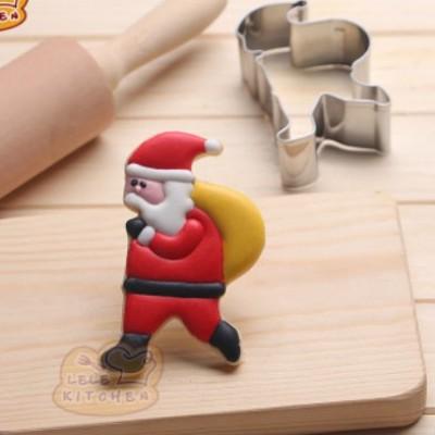 """Вырубка для пряников """" Санта"""""""