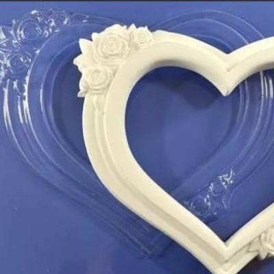 "Пластиковая форма для шоколада "" Сердце"""