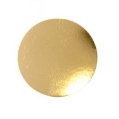 Подложка золото диаметр 30 см, т. 2.5 мм